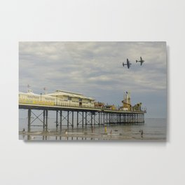 Paignton Pier Memorial Flight Metal Print
