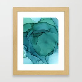 Sea Ink 3 Framed Art Print