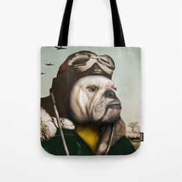 "Wing Commander, Benton ""Bulldog"" Bailey of the RAF Tote Bag"
