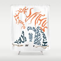 be brave Shower Curtains featuring Brave by pokegirl93