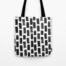 Paint Stroke Pattern Tote Bag