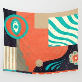 Open Rhythms Wall Tapestry