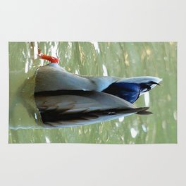 Bottom's Up Dabbling Duck Rug