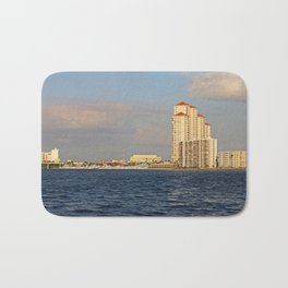 Shoreline in Fort Myers II Bath Mat
