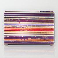 records iPad Cases featuring Grandpa's Records by Amy Hamilton