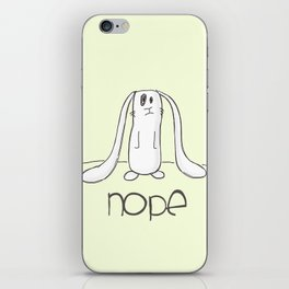 Nope iPhone Skin