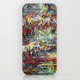 Claude Monet ''Le Pont japonais''  iPhone Case