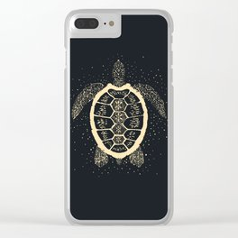 Sea Turtle Totem Clear iPhone Case