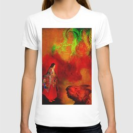 Kami on the lands of the eternal dragons T-shirt