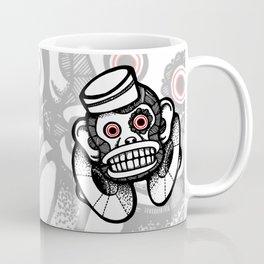 Creepy Cymbal-banging Monkey Coffee Mug