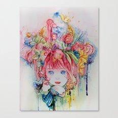 Nadias dream garden Canvas Print