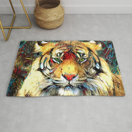 Fantazi (Tiger is Not Amused II) Rug