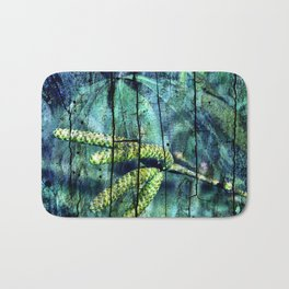 ARCHAIC BLUE DREAM Bath Mat