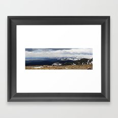 The Front Range Framed Art Print