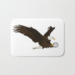 Volleyball Eagle Bath Mat