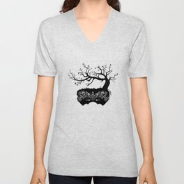 Tree Masquerade Unisex V-Neck
