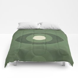 George Orwell Nineteen Eighty-Four - Minimalist literary design, bookish gift Comforters