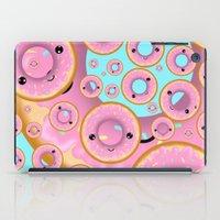 donuts iPad Cases featuring Donuts by Ilya Konyukhov