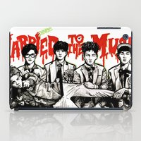 shinee iPad Cases featuring Married to the Music - SHINee by fabisart