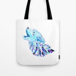 The Howling Wolf Tote Bag
