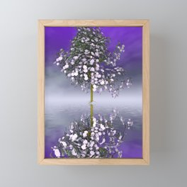 just a fancy tree -4- Framed Mini Art Print
