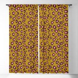 Cute leopard / cheetah skin seamless pattern, abstract animal background, vector illustration.Stylish  vector  design  Blackout Curtain