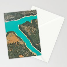 Turquoise Lake Stationery Cards