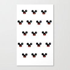 8 Bit Mouses  Canvas Print
