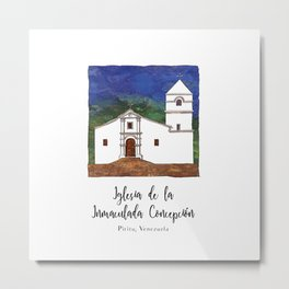 Iglesia de la Inmaculada Concepcion Metal Print