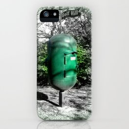 Golf Hill Letter Box iPhone Case