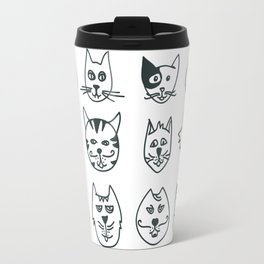 Cats - Who let the dog in? Travel Mug
