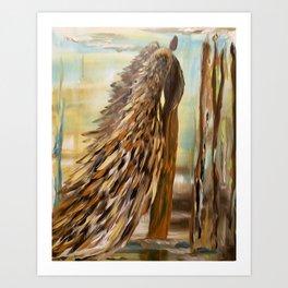 Angel Nature's Guardian Art Print