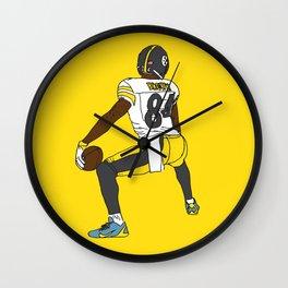 Antonio Brown Twerk Wall Clock