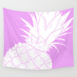 PINK PINEAPPLE Wall Tapestry