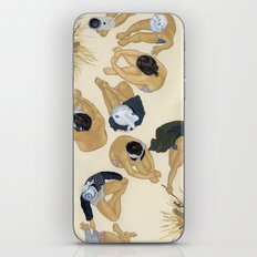 Finding Warmth Together iPhone & iPod Skin