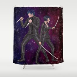 Lukagami - Hunters Shower Curtain