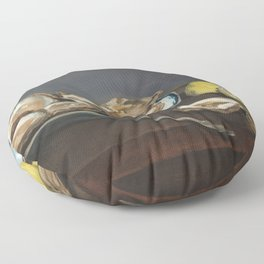 Édouard Manet - Oysters Floor Pillow