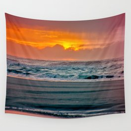 Ocean Sunset - Pacific Coast Highway 101 Wall Tapestry