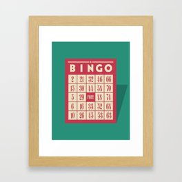 Bingo! Framed Art Print