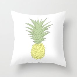 Just a Pineapple Throw Pillow