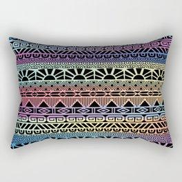 Aztec Cobalt Rectangular Pillow