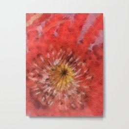 Poppy variation Metal Print