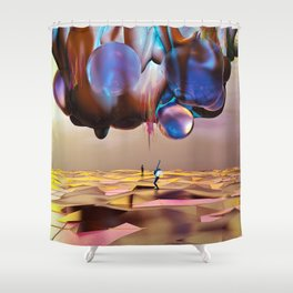 Frequency Shift Shower Curtain