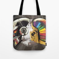 punk Tote Bags featuring Punk by Digital Sketch