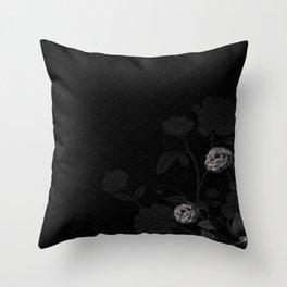 Rose Du Soir ~ Evening Rose Throw Pillow