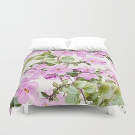 garden-flowers Duvet Cover