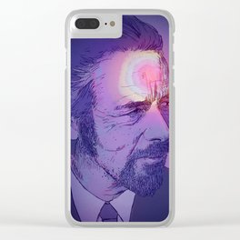 Alan Watts Clear iPhone Case