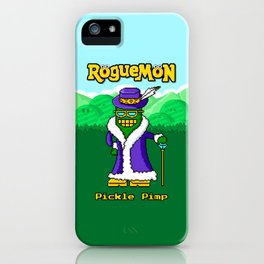 Pickle Pimp iPhone Case