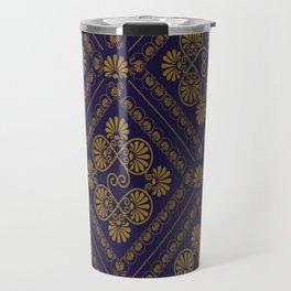 seamless pattern in eastern style Travel Mug