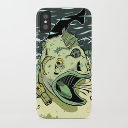 Something Fishy this way Comes iPhone Case